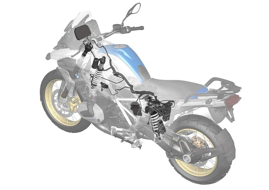 Electronic suspension