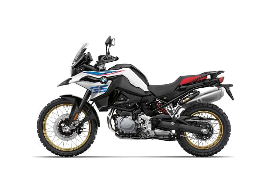 Lower seat height of the BMW R850 GS makes it a comfortable adventure bike