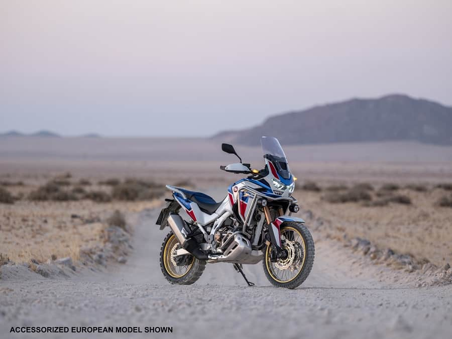 Both Honda Africa Twin models have cruise control as standard