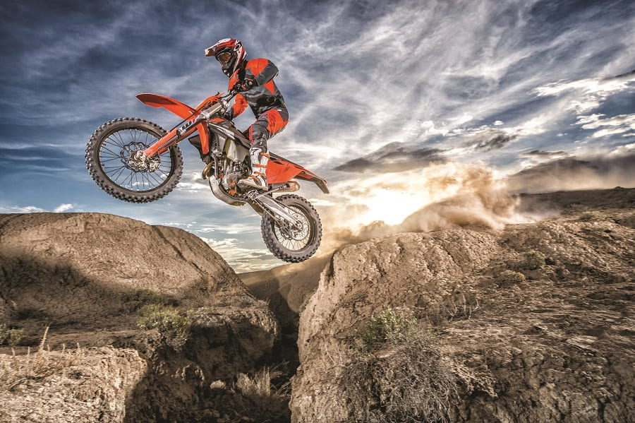 Dirt bikes are made for off-roading, not for comfort