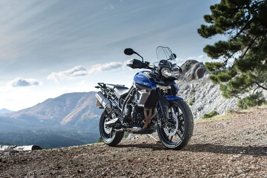 Cruise control features on most of the Triumph Tigers