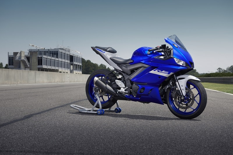 The Yamaha R3 is less than half the price of the R6