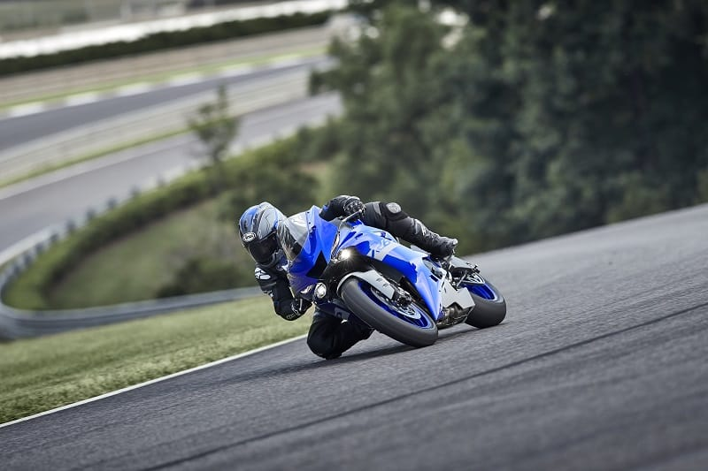 The Yamaha R6 was design for the race track, not the parking lot
