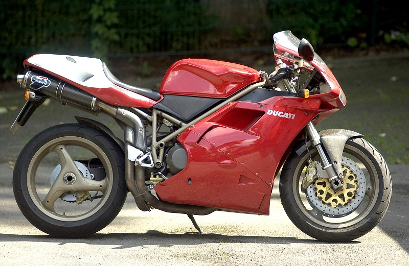 My dream bike when I was young, the Ducati 916 SPS